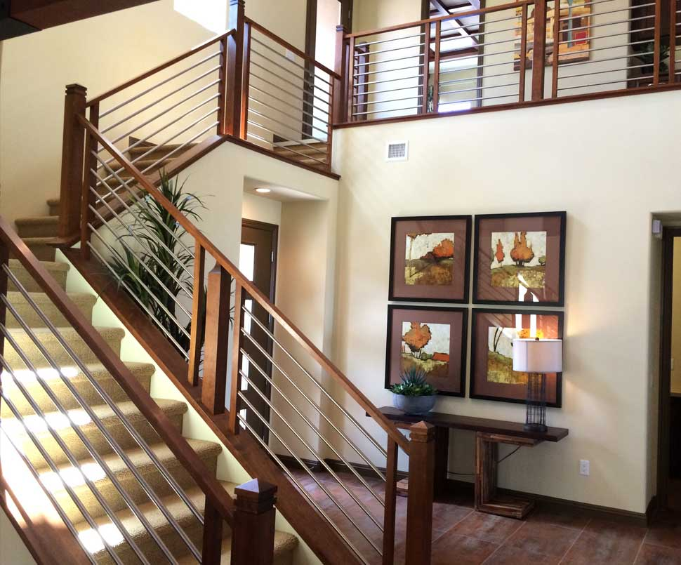 Awesome Stair Railing Installation SpecialistsTitan Stairs, Inc.